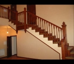 внешний вид лестницы с промежуточными площадками