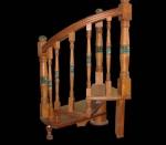 Фрагмент винтовой лестнице